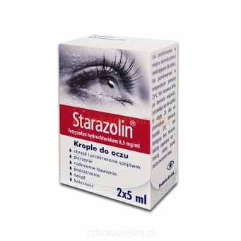 Starazolin 0.05% krop.do oczu 2x5 ml